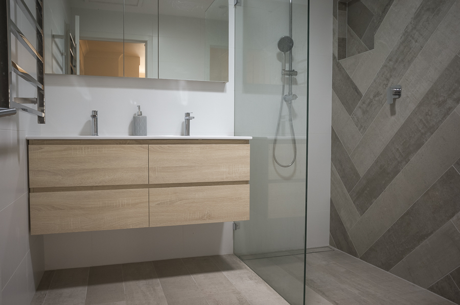 modern bathroom renovations mona vale